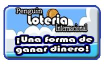 Penguin Loteria Intenacional Boton planeado